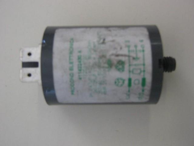 Condensatore lavatrice Zoppas PL846 cod 411422430A
