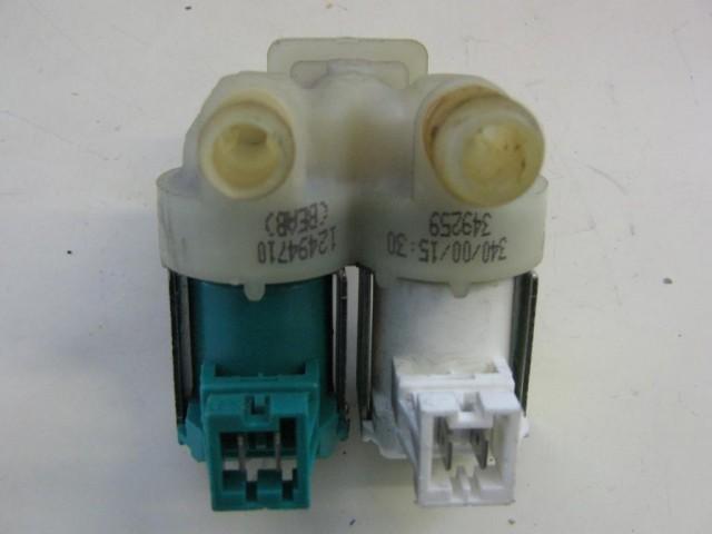 Elettrovalvola lavatrice Rex RQ99E cod 124947103