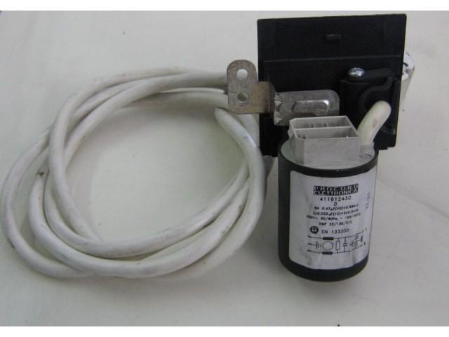 Condensatore lavatrice Ariston AVL86P cod 411612430D