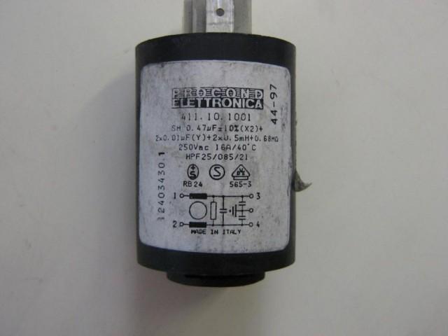 Condensatore lavatrice Zerovatt LADYSTEE9SS cod 41010141