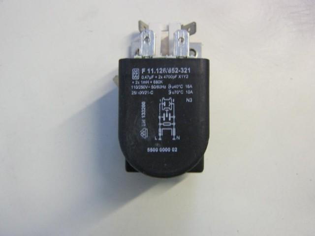 Condensatore lavatrice Bosch TUAA FD8206 cod F 11.126/852-325