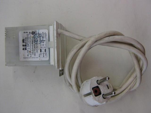 Condensatore lavatrice Indesit WIDL126EX cod PLCFL047270510