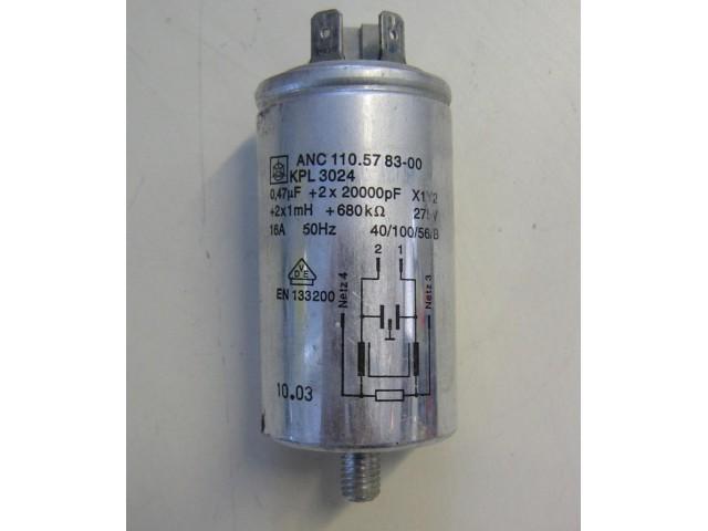 Condensatore lavatrice Aeg L50212 cod 110.57 83-00