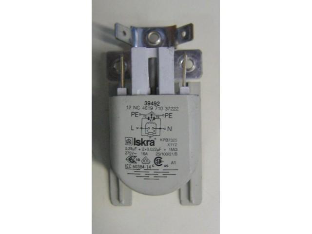 Condensatore lavatrice Ignis LOE 6052/1 cod 461971037222