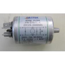Condensatore lavatrice Samsung Q1235VGW1 cod FA-2151T-4