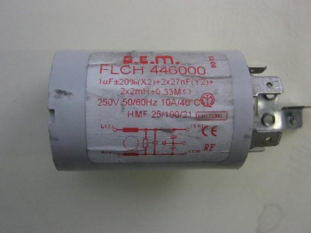 Condensatore lavatrice Candy GO 85-01 cod FLCH446000