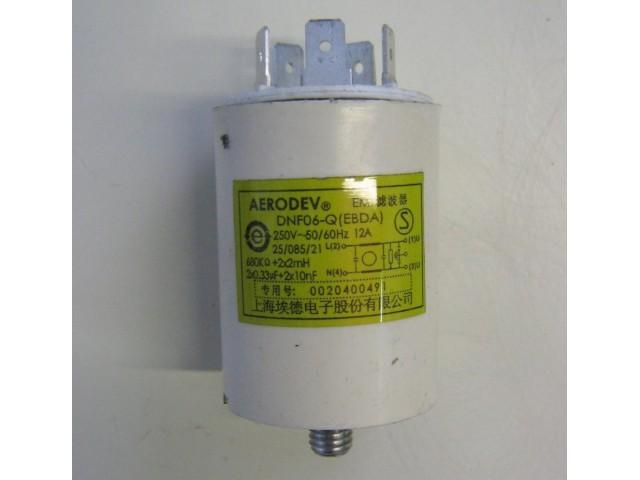 Condensatore lavatrice Haier HMS1000TVE cod NF06-Q (EBDA)