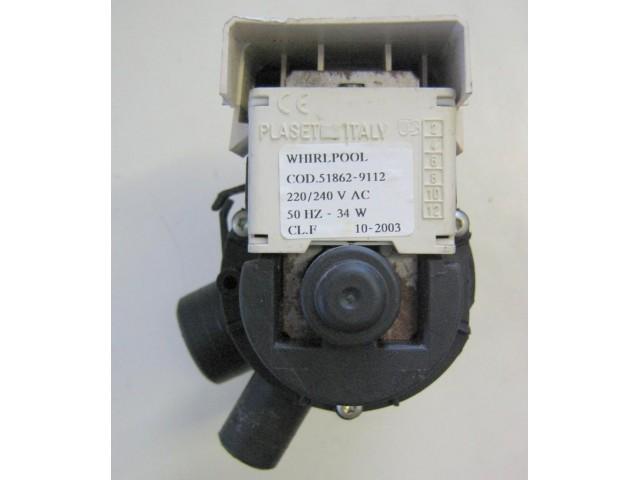Pompa lavatrice Whirlpool AWM 5500 cod 51862