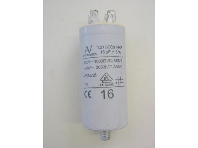 Condensatore lavatrice Bianca SLS60ZT cod 1.27.6CC3
