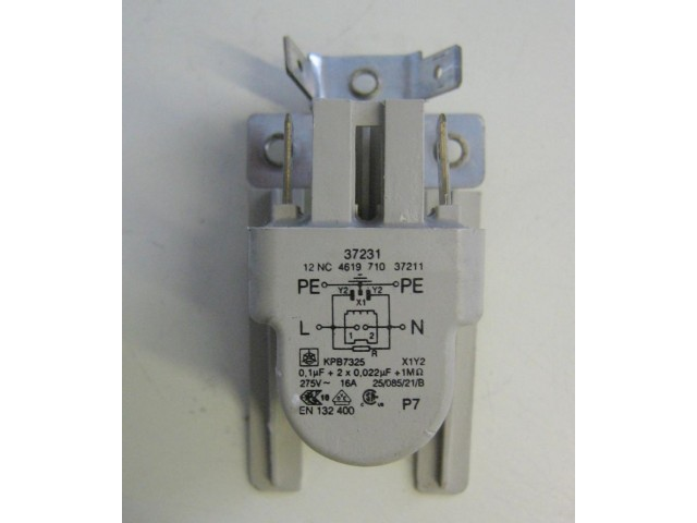 Condensatore lavatrice Ignis AWV465/M cod 461971037211