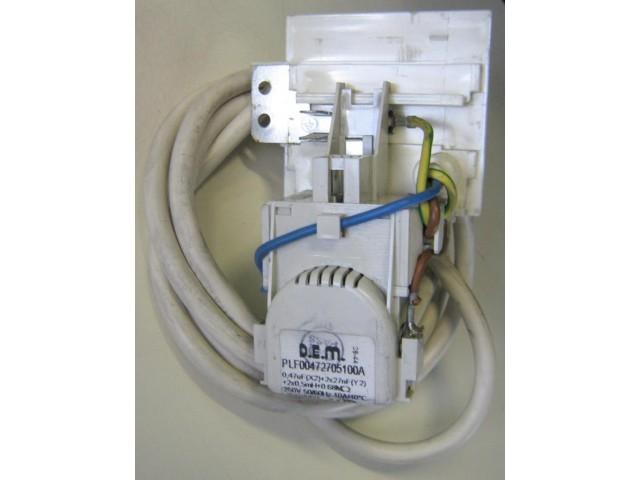 Condensatore lavatrice Indesit WISL106 cod PLF00742705100A