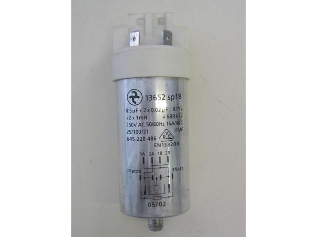 Condensatore lavatrice Aeg LAVAMAT W1037-W cod 645.220 486