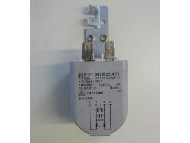 Condensatore lavatrice Candy CM2 106-01 cod F 55.047/823-451