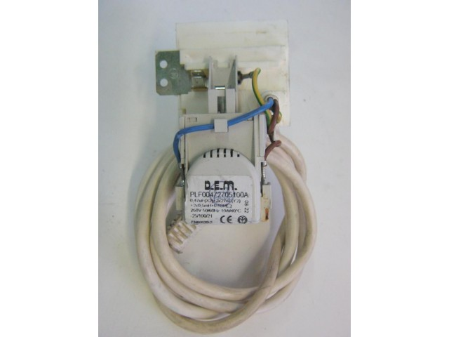 Condensatore lavatrice Indesit WIN600 cod PLF00472705100A