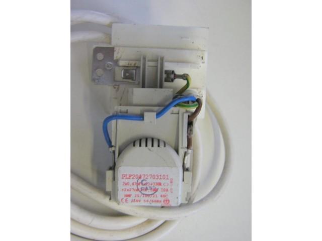Condensatore lavatrice Ariston AQSL 109 cod PLF20472703101