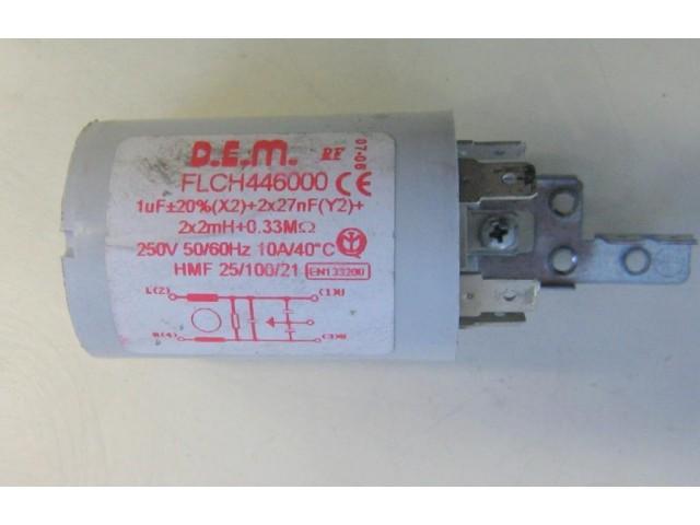 Condensatore lavatrice Zerowatt ZLP482 cod FLCH446000