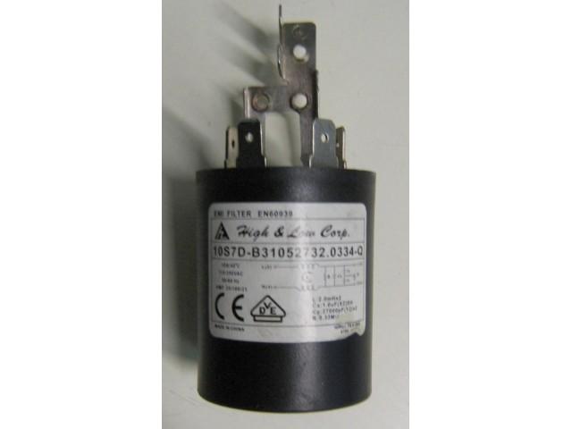 Condensatore lavatrice Hoover DYNS6104DZ cod 10S7D-B31052732.0334-Q