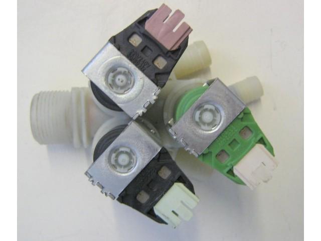 Elettrovalvola lavatrice Rex RWW16681W cod 132548700