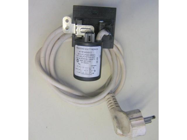 Condensatore lavatrice Indesit WISL66 cod 4116124303 D