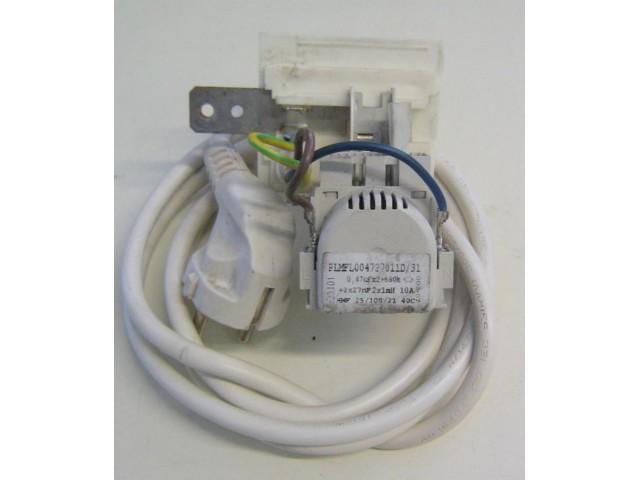 Condensatore lavatrice Ignis LOP80 cod PLMFL004727011D/31