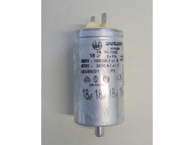 Condensatore lavatrice Zoppas P6 cod 16.25.7390