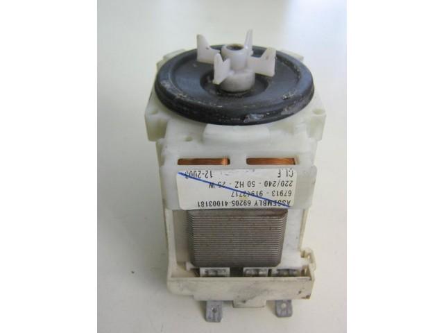Pompa lavatrice Hoover HVP16 cod 69205 - 41003181