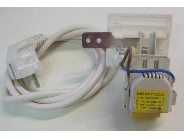 Condensatore lavatrice Hoover HVP16 cod PLMFL204727021D/31
