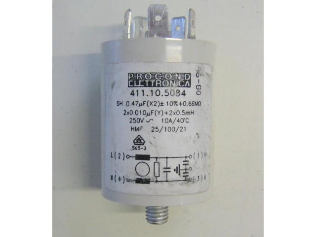 Condensatore lavatrice Bosch WFB1207 cod 411105084