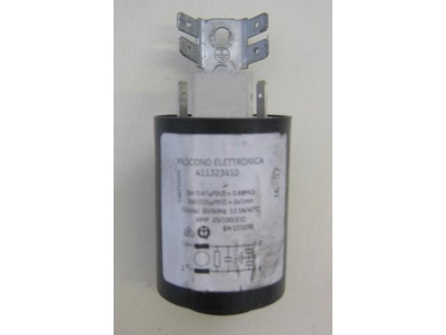 Condensatore lavatrice Whirlpool RWT10420W cod 411323410