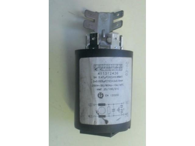 Condensatore lavatrice Ariston ATD104 cod 411312436