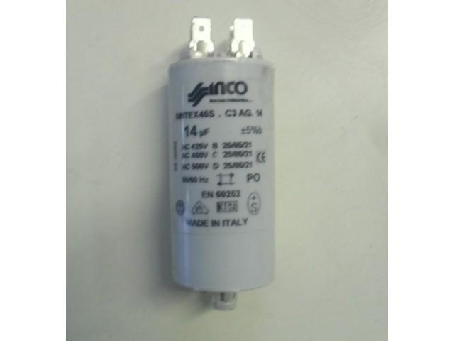 Condensatore lavatrice Indesit WP42 cod SINTEX 45S.C3AG14