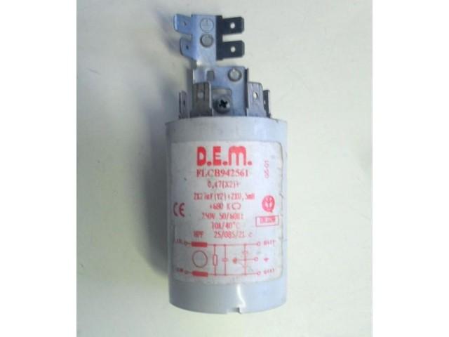 Condensatore lavatrice Indesit W68X cod FLCB942561