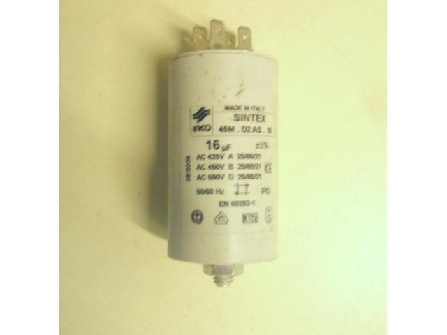 Condensatore lavatrice Ardo A600X cod 45M.D2 AS.16