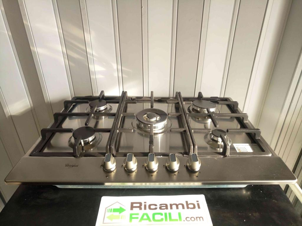 Piano cottura Whirlpool AKR 358/IX | Ricambi Facili