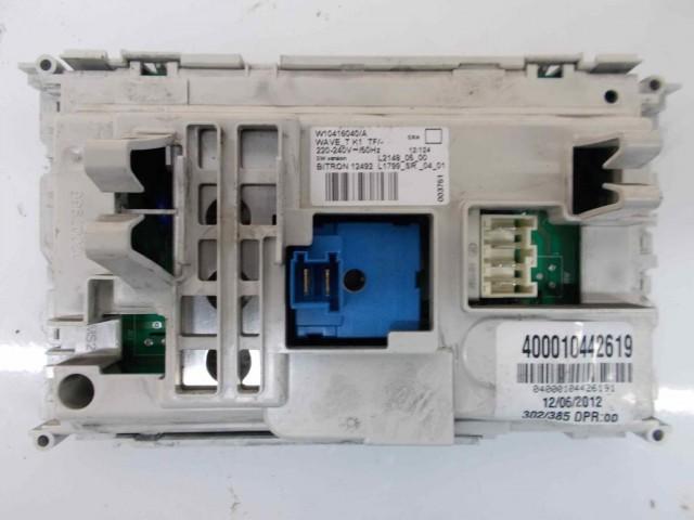 Scheda main lavatrice Whirlpool AWO/D1007 cod 400010442619