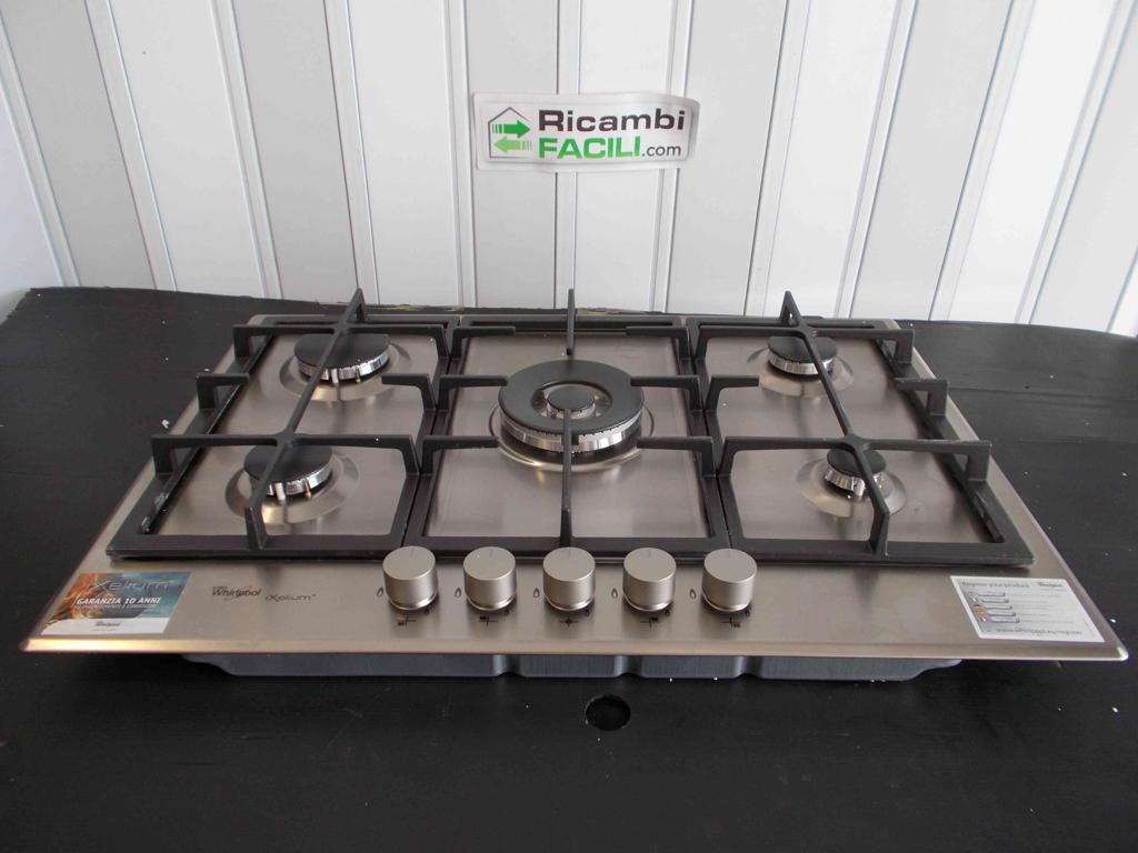 Piano cottura Whirlpool GMA7522 IXL | Ricambi Facili
