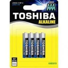 Batteria alcalina Toshiba ministilo 6pz