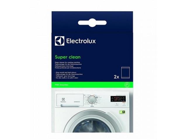 Detergente lavatrice sgrassante antimorchia super clean kit 2 pz