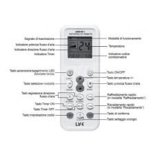 Telecomando clima life autopprendente tipo nuovo 4000 canali