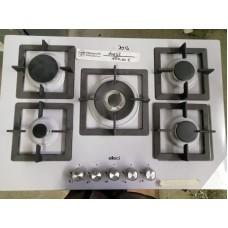 ELLECI Piano Cottura PMSP75179CS a Gas 5 Fuochi Gas Colore Acciaio Inox