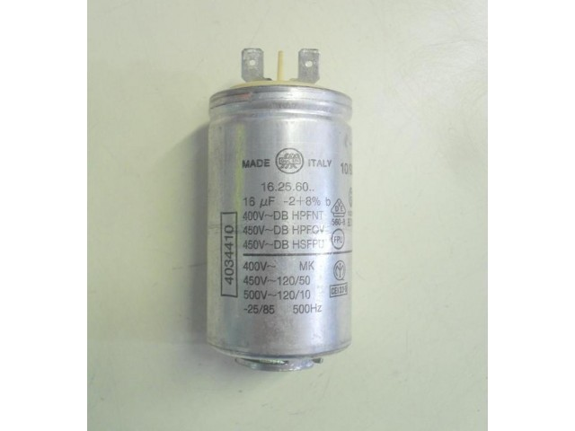 Condensatore lavatrice Zoppas PL6 cod 16.25.60