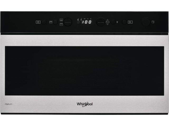 Whirlpool - Microonde con grill W9 MN840 IXL finitura vtro nero da 60 cm