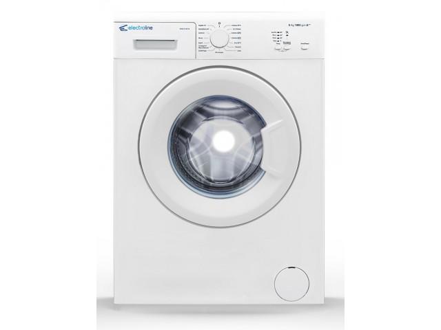 Electroline WME-510F1b lavatrice Libera installazione Caricamento frontale Bianco 5 kg 1000 Giri/min A++