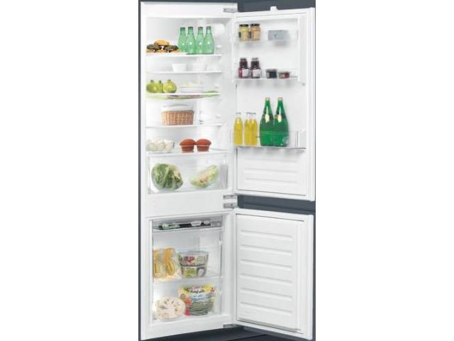 Ignis ARL 6501/A+ Incasso 275L A+ Acciaio inossidabile frigorifero con congelatore