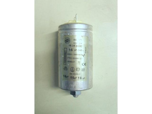 Condensatore lavatrice Rex RLV5P cod 16.25.6093