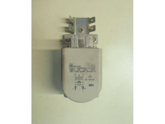 Condensatore lavatrice Wega White W1039X cod KPL3508