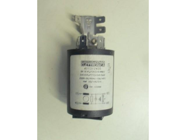 Condensatore lavatrice ARISTON ALS89XS cod 411312435