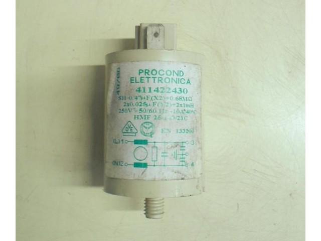 Condensatore lavatrice Zoppas Z20 cod 411422430