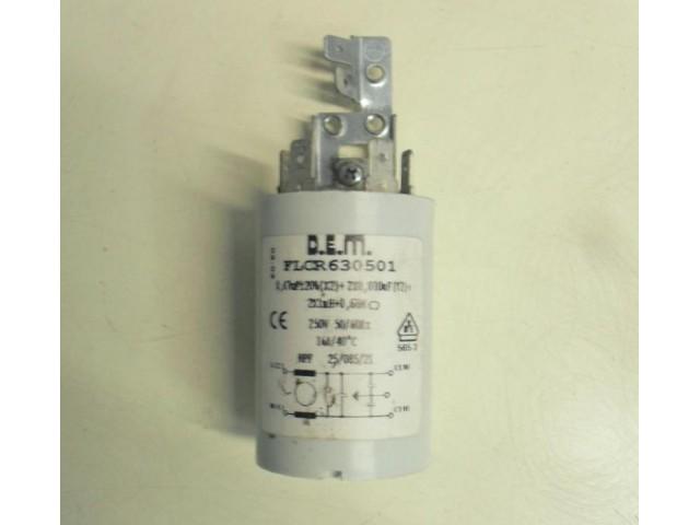 Condensatore lavatrice Candy ACTIVA 109 ACR cod FLCR630501