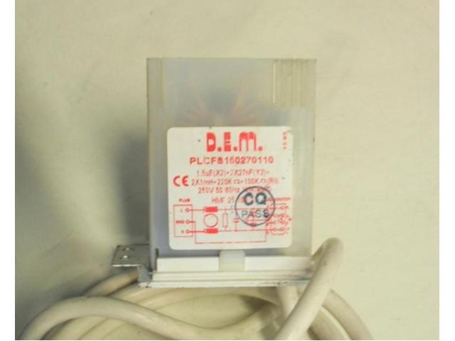 Condensatore lavatrice Ariston AVL109 cod PLCFS150270110